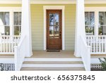 front door  front view an... | Shutterstock . vector #656375845