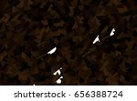 dark black vector geometric... | Shutterstock .eps vector #656388724