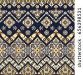 seamless ethnic patterns for... | Shutterstock .eps vector #656398531