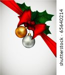 christmas composition | Shutterstock . vector #65640214