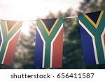 South Africa Flag Pennants