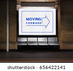 moving forward aspirations... | Shutterstock . vector #656422141