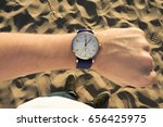 wristwatch  beach
