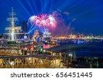 hamburg germany   panorama of... | Shutterstock . vector #656451445