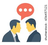 communication  colored vector... | Shutterstock .eps vector #656457121