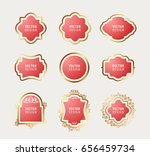 set of high quality luxury... | Shutterstock .eps vector #656459734
