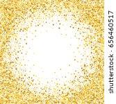 gold frame. gold frame for... | Shutterstock .eps vector #656460517