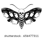 vector hand drawn illustration... | Shutterstock .eps vector #656477311