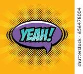 comic pop art sign | Shutterstock .eps vector #656478004