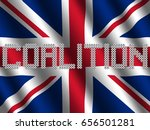 coalition text of votes on... | Shutterstock . vector #656501281