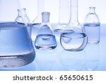 laboratory glassware | Shutterstock . vector #65650615