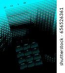 2018 abstract calendar with...   Shutterstock . vector #656526361