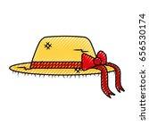female farmer hat icon | Shutterstock .eps vector #656530174