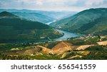 douro valley  portugal. top... | Shutterstock . vector #656541559