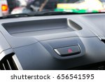 detail of a warning button in a ... | Shutterstock . vector #656541595