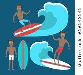 vector illustration of the... | Shutterstock .eps vector #656543545