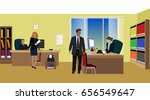 office life | Shutterstock .eps vector #656549647