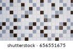 Square Pattern Of Ceramic Tile...