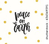 trendy hand lettering poster.... | Shutterstock .eps vector #656569591