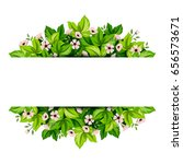 vector background banner with... | Shutterstock .eps vector #656573671