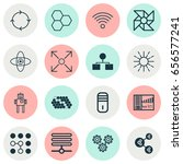 icons set. collection of...   Shutterstock .eps vector #656577241