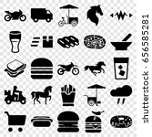 Fast Icons Set. Set Of 25 Fast...