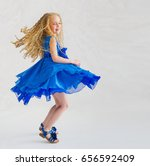 beautiful little girl in... | Shutterstock . vector #656592409