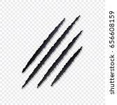 animal scratches vector | Shutterstock .eps vector #656608159