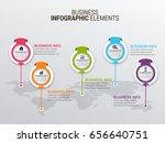 modern infographic paper...   Shutterstock .eps vector #656640751