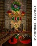 computer generated 3d...   Shutterstock . vector #65664535