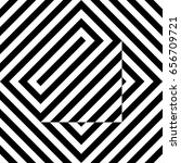 seamless tile with black white... | Shutterstock .eps vector #656709721