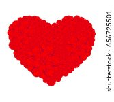 picture of the heart of...   Shutterstock .eps vector #656725501