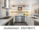 modern residential kitchen | Shutterstock . vector #656748271