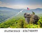 chimney rock at chimney rock... | Shutterstock . vector #656748499