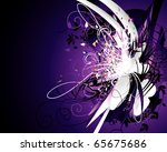 color neon vector illustration | Shutterstock .eps vector #65675686