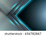 vector background of metal... | Shutterstock .eps vector #656782867