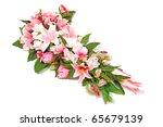 wedding flower composition...   Shutterstock . vector #65679139