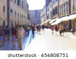 blurred background. people... | Shutterstock . vector #656808751