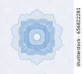 light blue passport money... | Shutterstock .eps vector #656822281