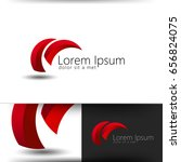 abstract lpgo template | Shutterstock .eps vector #656824075