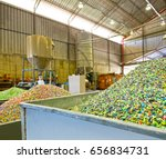 plastic recycling plant   Shutterstock . vector #656834731