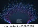 abstract background. splash... | Shutterstock .eps vector #656835739