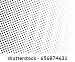 abstract halftone dotted... | Shutterstock .eps vector #656874631