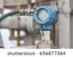 digital pressure gauge for... | Shutterstock . vector #656877364