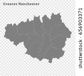 high quality map of greater... | Shutterstock .eps vector #656903371