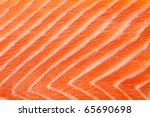 fresh red salmon texture.... | Shutterstock . vector #65690698