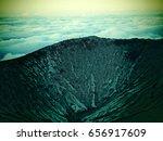 mount bromo volcano  east java  ... | Shutterstock . vector #656917609