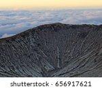 mount bromo volcano  east java  ... | Shutterstock . vector #656917621