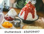 shaved ice     | Shutterstock . vector #656939497