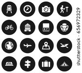 set of 16 relax icons set... | Shutterstock .eps vector #656972329